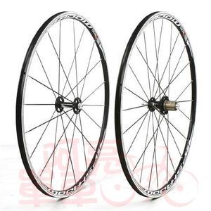 *阿亮單車*RUBAR SHADOW CX3 公路車鋁合金輪組,直拉式花鼓,黑色《A20-804》