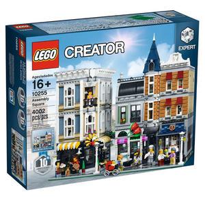 樂高積木 LEGO《 LT10255 》創意大師 Creator 系列 - 集會廣場 Assembly Square