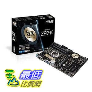 [美國直購 ShopUSA] 主機板 ASUS ATX DDR3 2600 LGA 1150 Motherboards Z97-K/CSM