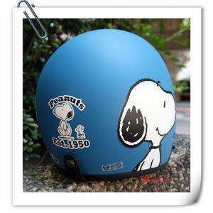 林森●史努比復古帽,3/4帽,半罩式,805,803,#3/消光藍