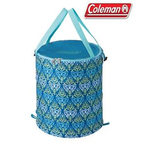 Coleman 美國 藍葉圖騰萬用魔術桶 CM-21913 摺疊桶 垃圾桶 置物桶 RV桶 【易遨遊戶外用品】