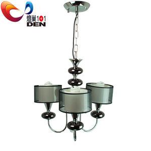 【 燈巢1+1】 燈具。燈飾。Led居家照明。桌立燈。工廠直營批發  史都華德3燈金屬吊燈  02035906