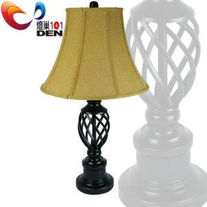 新古典美式風格  凱薩琳金屬藝術桌燈【燈巢1+1】燈具。燈飾。Led居家照明。桌立燈。 07036597
