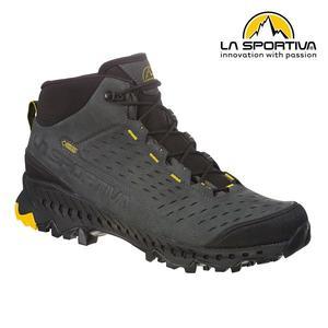 【LA SPORTIVA】 Pyramid GTX 防水透氣牛皮中筒健行登山鞋 碳黃/黑 男款  #24H900100
