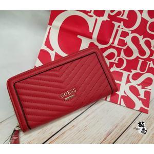 美國GUESS 專櫃 最新款  紅色  長夾 限量  大特價 $1388
