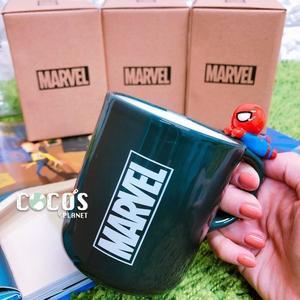 正版 MARVEL 復仇者聯盟 蜘蛛人立體造型 杯緣子 陶瓷馬克杯 杯子 水杯 馬克杯 COCOS SS280