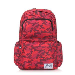 《高仕皮包》【免運費】KANGOL 都會叢林迷彩後背包.紅色KG1111-A-RED