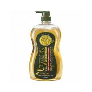 南僑  水晶肥皂食器洗液  1000ml【新高橋藥妝】~ 天然菜籽油‧洗淨成份100%純皂!