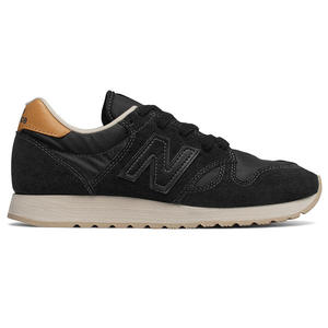 NEW BALANCE 520 女鞋 慢跑 麂皮 網布 透氣 復古 黑 【運動世界】 WL520BK