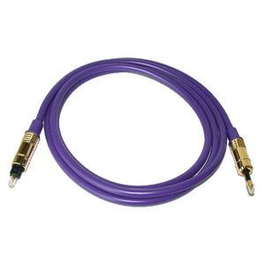 ANV【數位光纖線1.5公尺】頂級紫色系圓頭對方頭(AF-10302A)一條