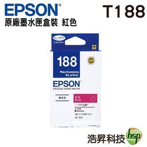 EPSON T188350 / T188 紅色 原廠墨水匣 WF-7611/WF-3621/WF-7111/WF-7211/WF-7711