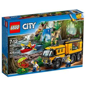 樂高積木LEGO 城市系列 60160 叢林行動實驗室