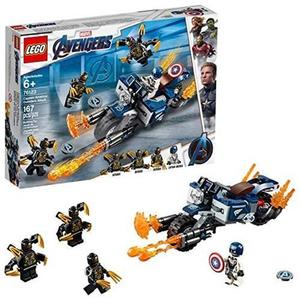 LEGO 樂高 Marvel Avengers Captain America: Outriders Attack 76123 Building Kit (167 Piece)