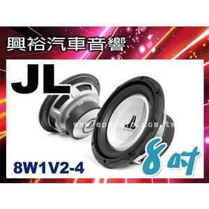 【JL】8吋汽車重低音喇叭8W1V2-4*150瓦