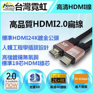 HDMI2.0扁線高品質現貨