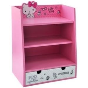 kitty化妝櫃化妝箱置物櫃展示櫃收納櫃珠寶收納桌面整理101803通販屋