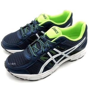 《7+1童鞋》大童 ASICS 亞瑟士 GEL-CONTEND 4 GS 透氣網布 運動鞋 慢跑鞋 5192 藍色