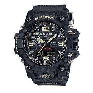 CASIO G-SHOCK 征服世界沙漠冒險電波錶-黑X刻度棕(GWG-1000-1A)
