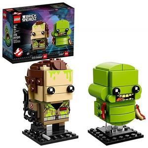 LEGO 樂高 BrickHeadz Peter Venkman & Slimer 41622 Building Kit (228 Piece) (Amazon Exclusive)