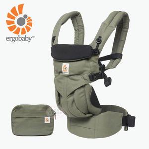 【愛吾兒】Ergobaby 美國爾哥寶寶 Omni 全階段型四式360嬰兒揹帶-卡其綠