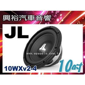 【JL】10吋汽車重低音喇叭10WXv2-4*4歐姆