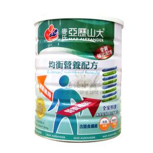 雅護 麥氏 亞歷山大  均衡營養配方  1500公克  成人系列奶粉/多纖/無乳糖/天然機能元素