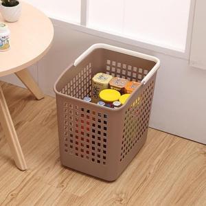 日式加厚臟衣籃洗衣籃塑膠特大號臟衣簍洗衣桶臟衣服收納筐浴室WY