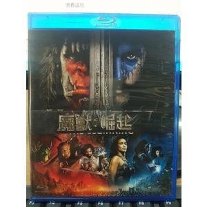 挖寶二手片-Q00-640-正版BD【魔獸崛起 3D+2D】-藍光電影