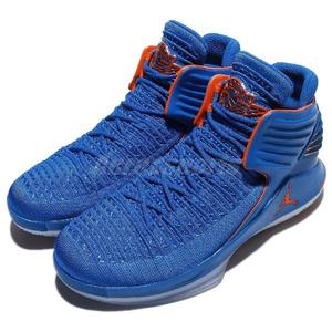 Nike Air Jordan XXXII PF RUSS 藍 橘 雷霆隊 冰底 喬丹 32代 男鞋 籃球鞋 【PUMP306】 AH3348-400