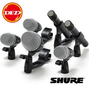 SHURE麥克風 PGDMK6-XLR 收音麥克風套裝組 6件 (爵士鼓) 公司貨