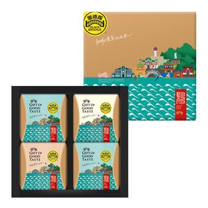 【黑橋牌】小藝遊府城禮盒C(特製肉絨、肉乾、肉絲、魷魚片)