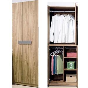 衣櫃 衣櫥 TV-86-3 佛羅倫斯2.5尺雙吊衣櫥【大眾家居舘】