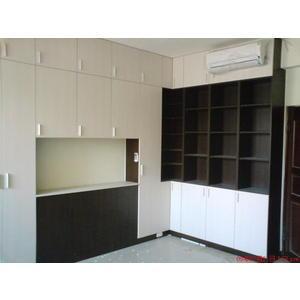 【歐雅系統家具】E1V313防潮塑合板卍工廠直營卍床頭櫃,衣櫃,書櫃 B0003