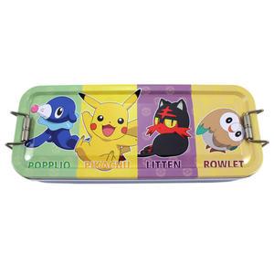 【卡漫城】 寶可夢 三層 鉛筆盒 ㊣版 精靈 皮卡丘 神奇寶貝 Pokemon 鐵盒 木木梟 火斑喵 球球海獅