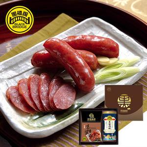 【黑橋牌】黑豬秘饌-美饌禮盒A-(冷藏)(高粱酒黑豬肉香腸、黑豬肉鬆)
