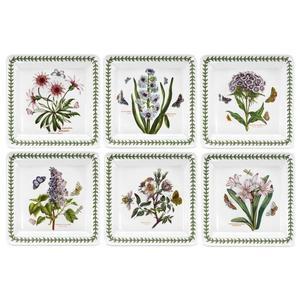 英國Botanic Garden植物園系列 - 8.5吋方盤六入組