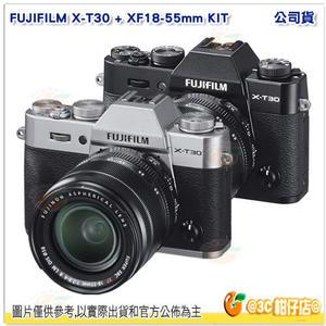 富士 FUJIFILM X-T30 +XF 18-55mm KIT 單鏡組 XT30 公司貨 APS-C片幅 4K錄影