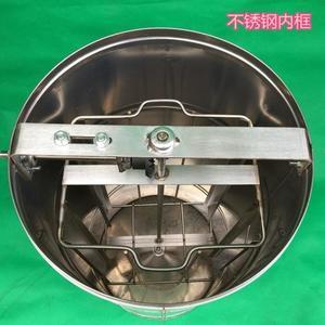 搖蜜機 亮光甩蜜機無縫桶加厚不銹鋼自翻打糖桶搖蜜機不銹鋼齒輪搖蜜機 JD 非凡小鋪