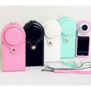 卡西歐EX-FR100L運動相機包 FR100 FR200皮套美顏自拍神器保護套 三角衣櫃