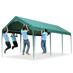促銷款車庫 戶外車棚停車棚家用汽車遮陽雨棚車庫防曬簡易移動帳篷XC