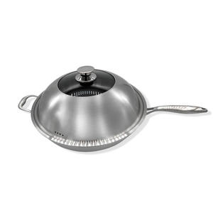 Maluta 瑪露塔不鏽鋼316陶晶不沾單柄炒鍋 34cm 炒鍋