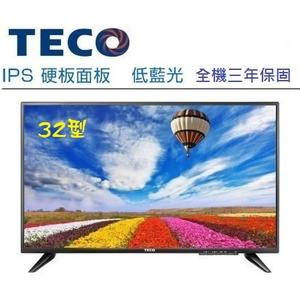 «0利率» TECO東元32吋低藍光數位LED液晶電視 TL32K1TRE 或TL32K3TRE【南霸天電器百貨】