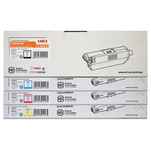 【高士資訊】OKI C332 / MC363 原廠 四色 高容量 碳粉匣 46508717/18/19/20
