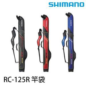 漁拓釣具 SHIMANO RC-125R 紅/黑 #145 (竿袋)