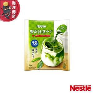 【海洋傳奇】【日本出貨】Nestle 雀巢咖啡球/濃縮球 濃縮咖啡-抹茶拿鐵 5入×12包