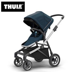 【愛吾兒】瑞典 THULE Thule Sleek推車 海軍藍