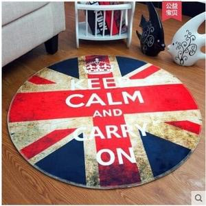 ins圓形地毯客廳北歐電腦椅地墊床邊毯