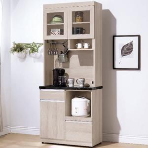櫥櫃 餐櫃 TV-410-4 艾達石面2.7尺餐櫃【大眾家居舘】