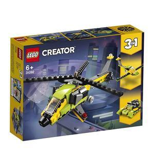 樂高積木LEGO 3合1創作系列 31092 直升機探險