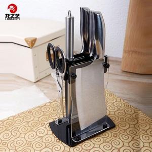 龍之藝家用刀具菜刀套裝 砍骨刀水果刀料理刀剪刀磨刀棒廚房用具ATF 三角衣櫃